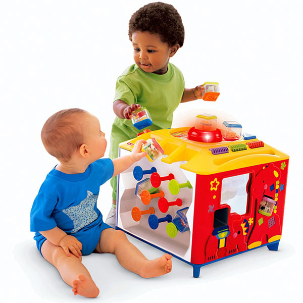 Интерактивный куб Fisher price
