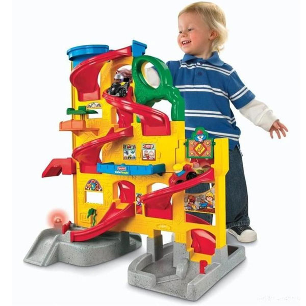 Гараж паркинг Fisher Price
