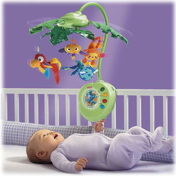 Карусель Тропический лес Fisher price