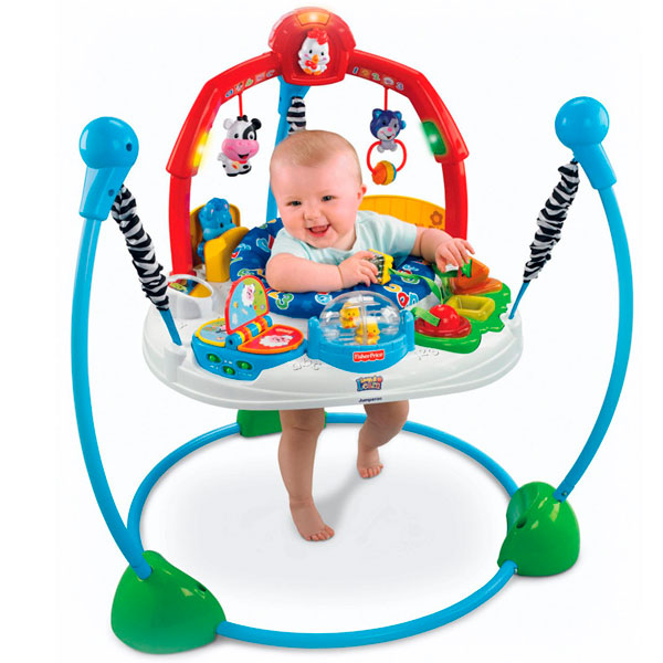 Прыгунки Ферма Fisher Price